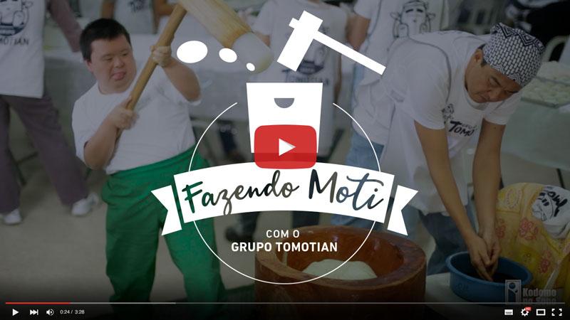 Fazendo Moti com o Grupo Tomotian