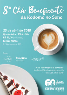 Chá Beneficente Kodomo no Sono 2018
