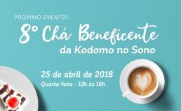 Chá Beneficente Kodomo no Sono 2018