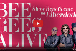 Show Beneficente na Liberdade Bee Gees Alive
