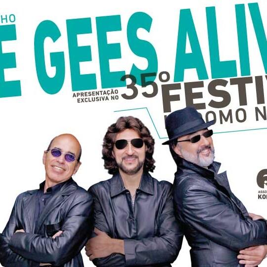 Bee Gees Alive no 35º Festival Kodomo no Sono