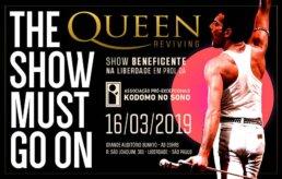 Show Beneficente Queen Reviving em prol da Kodomo no Sono