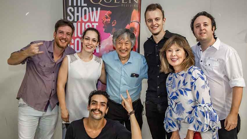 Show Beneficente The Show Must Go On em prol da Kodomo no Sono