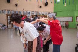 Aula de dança Kodomo no Sono