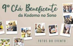 Chá Beneficente da Kodomo no Sono 2019