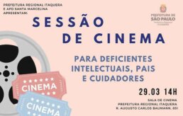 Sessão de Cinema para deficientes Kodomo no Sono