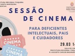 Sessão de Cinema para deficientes Kodomo no Sono