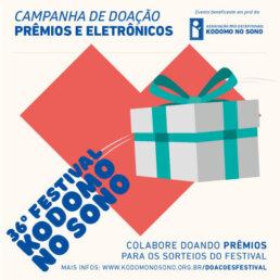 Campanha Doações 36º Festival Kodomo no Sono
