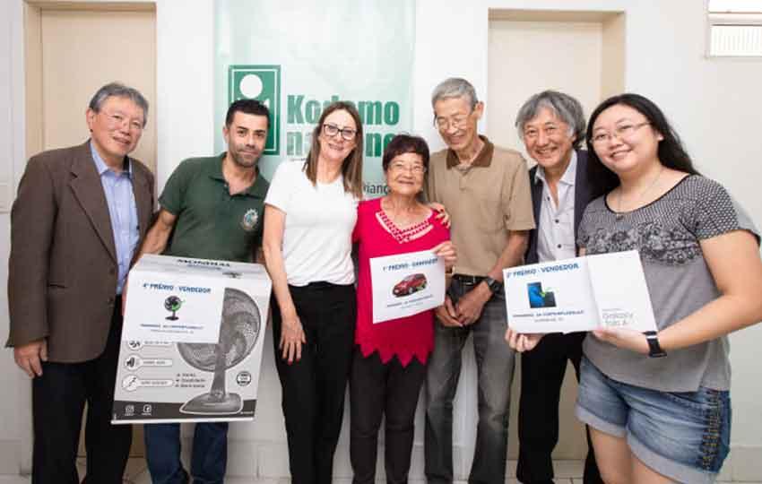 Entrega dos prêmios | Campanha de Contribuições 2019