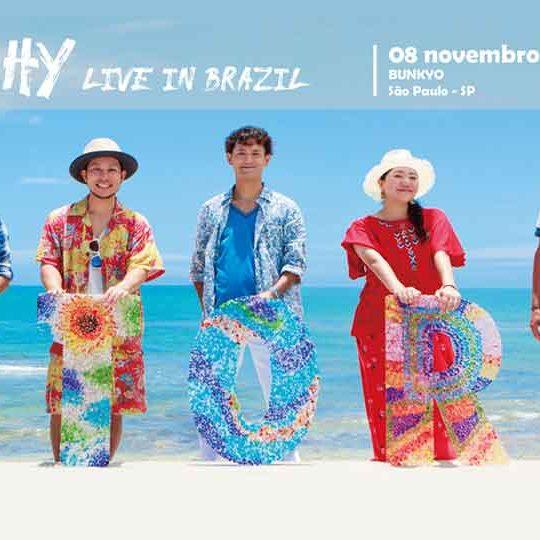 Show HY Live in Brazil Kodomo no Sono