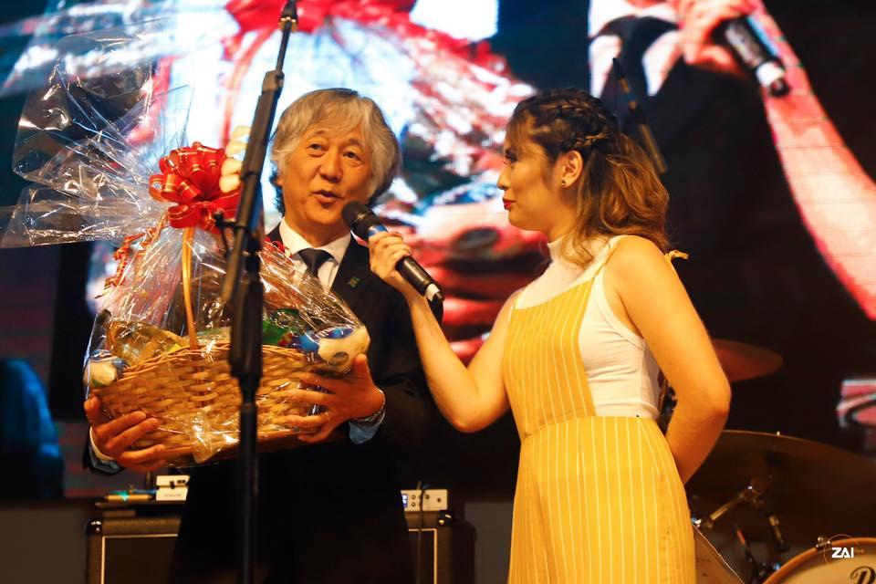 Agradecimento Show HY Kodomo no Sono