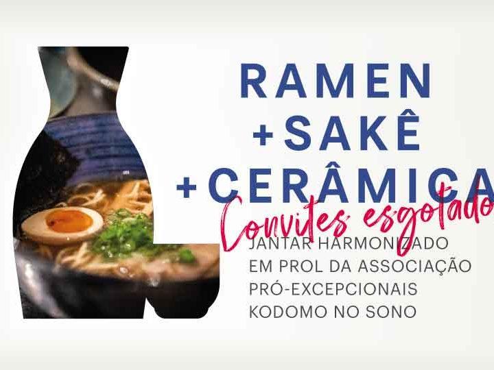 Jantar Harmonizado Beneficente Kodomo no Sono Jojo Ramen Aizome