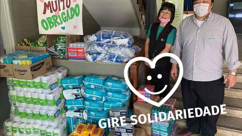 Gire Solidariedade Doacao Kodomo no Sono covid-19