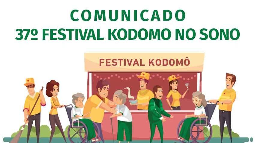 Comunicado 37 Festival Kodomo no Sono
