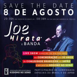 Live Show Joe Hirata em prol da Kodomo No Sono